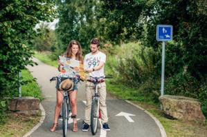 Plus de 1350 km de parcours-loisirs - © Condroz Famenne