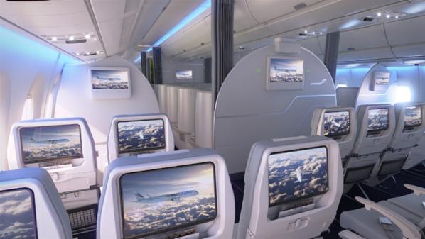 Classe Economique Airbus A350 - © Finnair