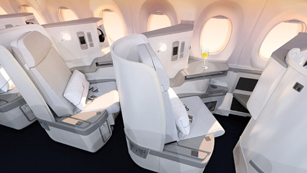 Business Class Airbus A350 - © Finnair