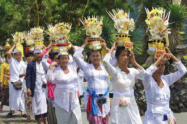 Cérémonie à Bali © O.T. Wonderfull Indonesia