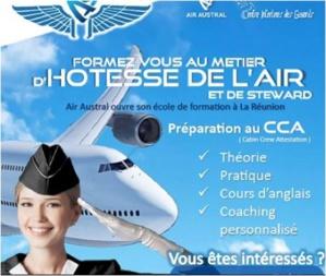Air Austral ouvre son école de PNC à La Réunion