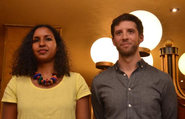 Gaël Octavia et Guillaume Poix lauréats du Prix Wepler-Fondation La Poste - © D. Raynal