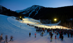 Ski nocturne - © Office du Tourisme