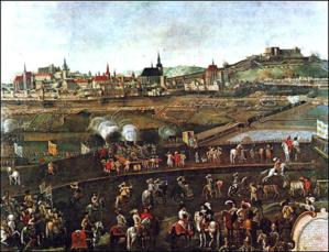Le siège de Brno en 1645 - © DR