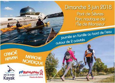 Canoë-Kayak & Marche Nordique à Sèvres