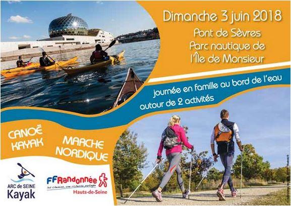 Canoë et Marche Nordique