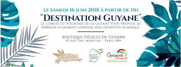 Destination Guyane à Paris