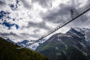Pont suspendu Charles Kuonen © Valentin Flauraud