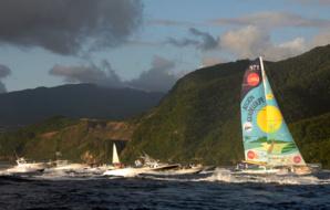 L'arrivée en Guadeloupe - © DR