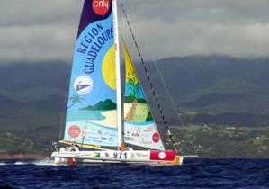Arrivée à la Guadeloupe