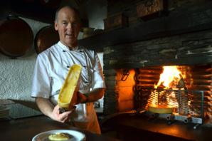 La pratique du fromage fondu était déjà connue en Valais en 1574 - David Raynal