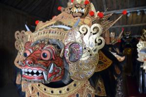 Musée des marionnettes et des masques à Ubud sur l'île de Bali - © D. Raynal