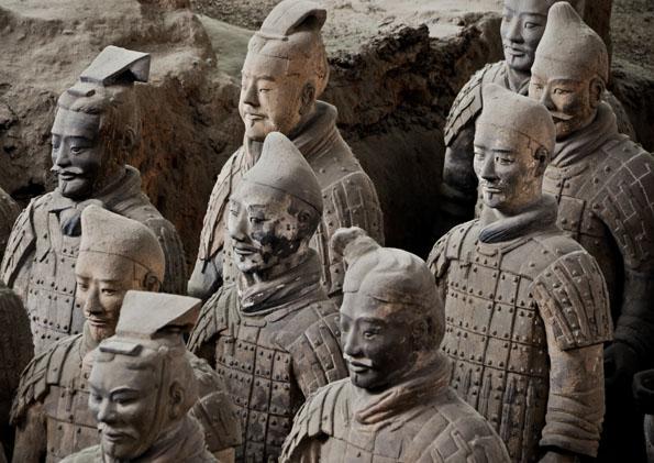 Armée de terre cuite à Xi'an - @ metronomy