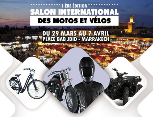 Salon de la moto et du vélo à Marrakech