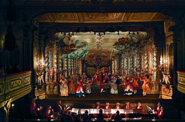 Le_théâtre baroque de Cesky Krumlov - © Czech Tourism