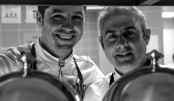 Fabien Raux et Sébastien Bontour au Vichy Célestins Spa Hôtel Casablanca - © D. Marché