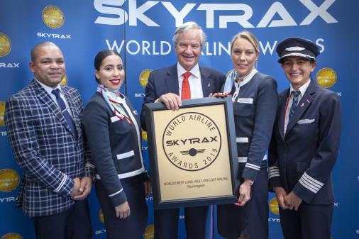 Norwegian élue Meilleure compagnie aérienne low-cost long-courrier au monde par Skytrax