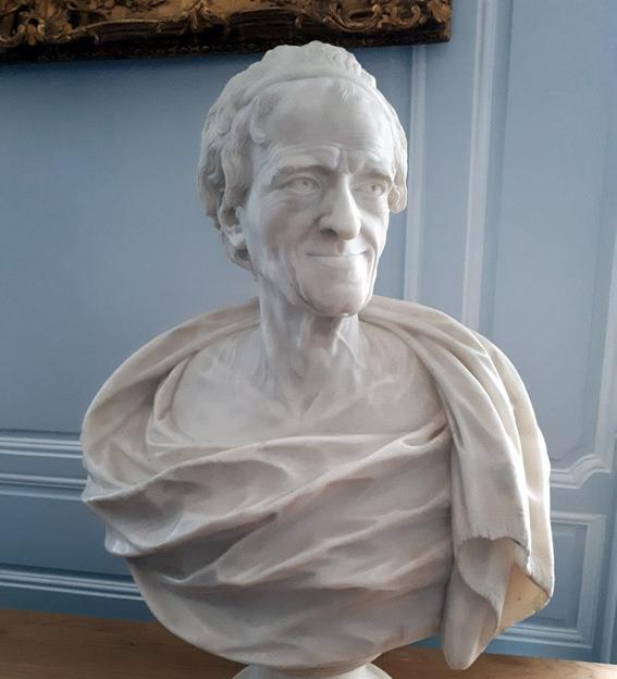 Buste de Voltaire - © H. Gouleret