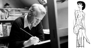 Jiří Šlitr artiste caricaturiste dans son atelier - © DR