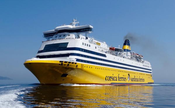Forte d'une flotte de 13 navires, Corsica Ferries dessert 22 lignes, propose jusqu'à 45 traversées par jour et a transporté 3.8 millions passagers et 1.3 millions de véhicules en 2018.© Corsica Ferries
