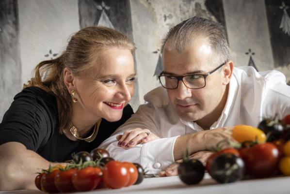 Corinne et Guilhem Sevin - © Restaurant Sevin