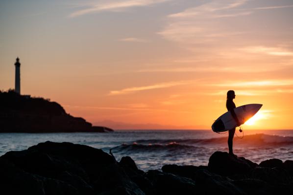 Surf à Anglet - © Riblanc
