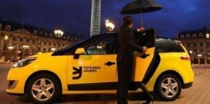 Voitures Jaunes, un nouveau concurrent pour les taxis parisiens