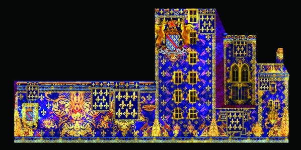 Les façades de la Mal-Coiffée à Moulins - © DR