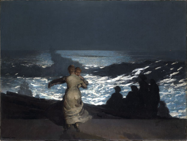 Winslow Homer (1836-1910) Nuit d'été, 1890 © RMN-Grand Palais (musée d'Orsay) / Hervé Lewandowski.