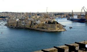 Vue du port de Vittoriosa depuis La Valette (photo David Raynal)
