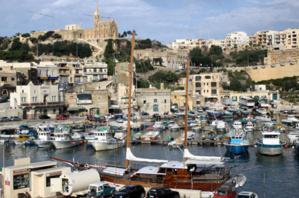 Port d'arrivée des ferries à Gozo (photo David Raynal)