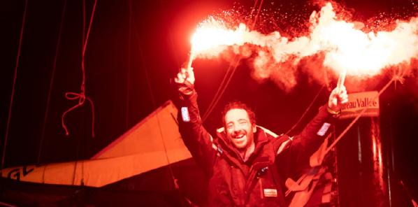 Fumigènes de la victoire © Jean-Marie Liot/Alea