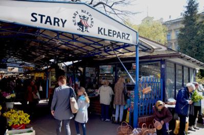 Stary Kleparz, le plus vieux et le plus pittoresque marché de Cracovie - © David Raynal