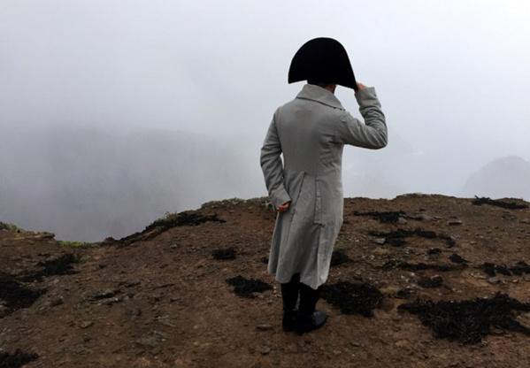Napoléon se morfondait en exil au bout du monde, au milieu de l'Atlantique sud.© Droits réservés