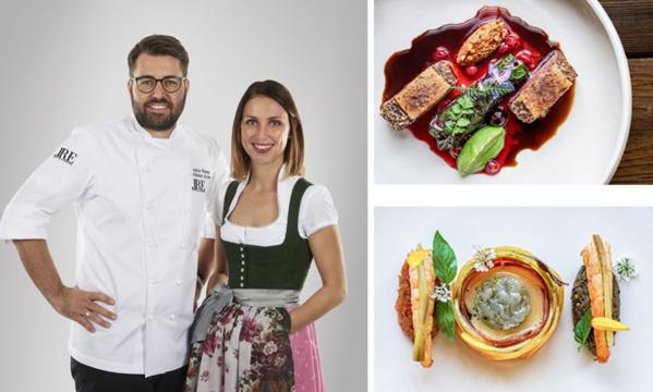Andreas Widmann, chef du restaurant Ursprung et son épouse Anna - © Ursprung