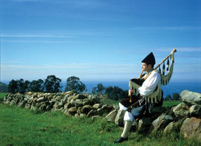 La gaïta - ® Societad Regional de Tourismo de Asturias