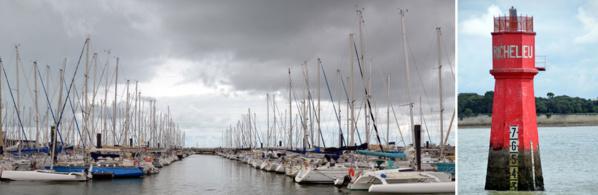 Le port des Minimes, le plus grand port de plaisance en Europe et le phare de Richelieu - © David Raynal