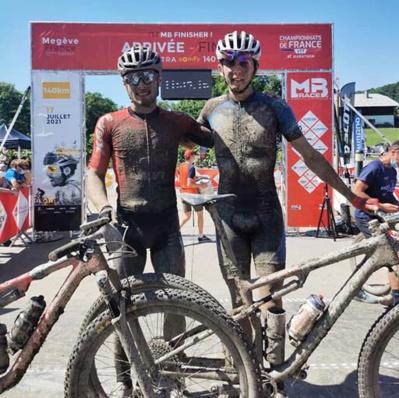 L'équipe Sweetzerland de Nils Correvon et Michael Montandon - © MB Race