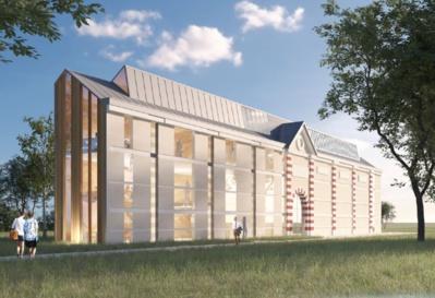 Galeries Léonard de Vinci - © Atelier d'architecture Chaix & Morel et associés