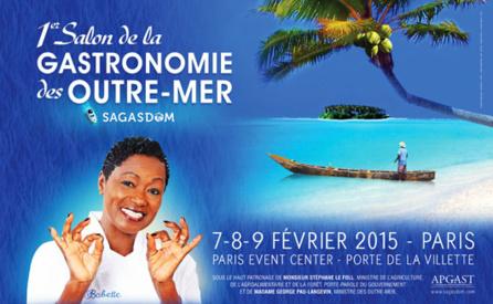 1er salon de la gastronomie des outre mer for Salon de la gastronomie paris