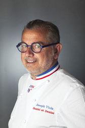 Joseph Viola Chef du restaurant Daniel et Denise à Lyon - ® JF Hamard