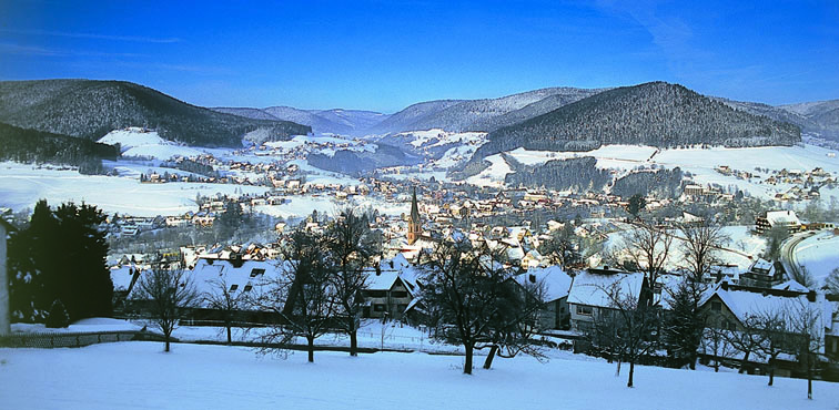 Région de Baiersbronn en hiver - ©  OT Baiersbronn