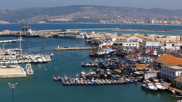 L'ancien port de pêche avant transformation en port de plaisance - © SGPT