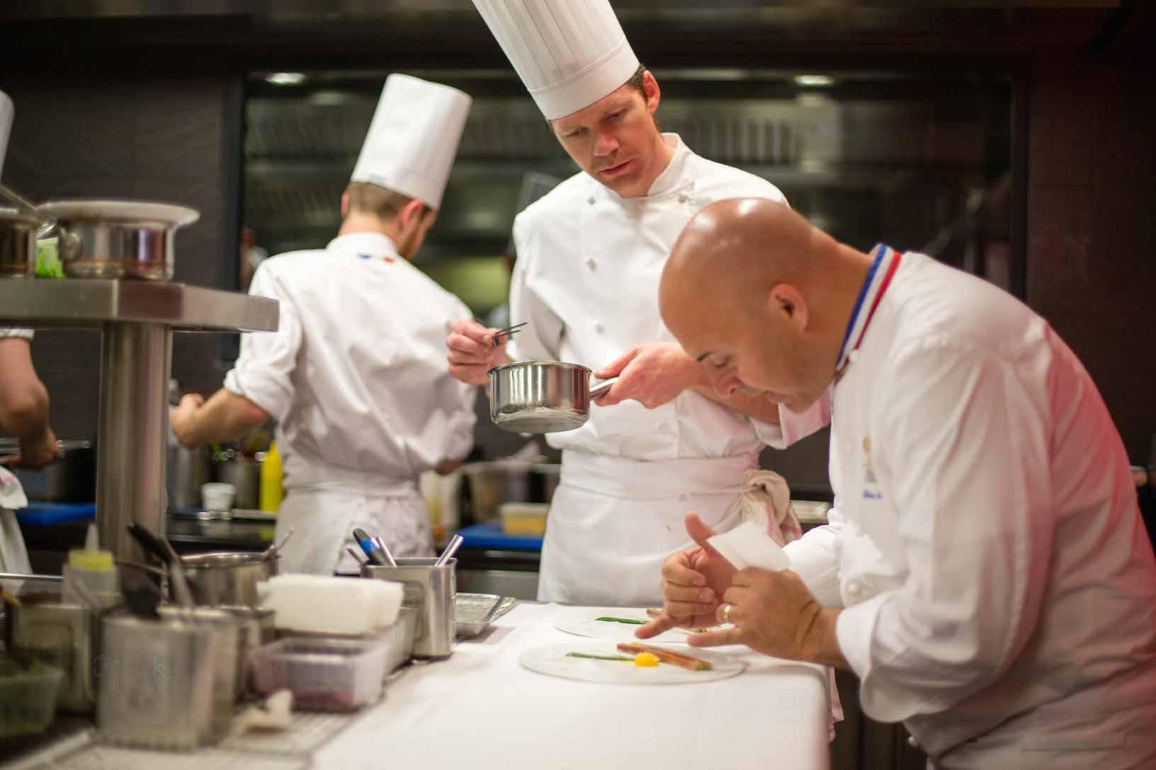 Le Chef Olivier Nasti - © Le Chambard