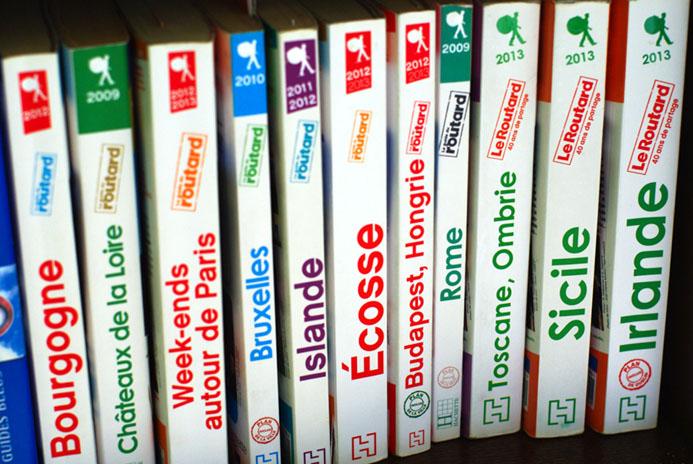 Avec 2,5 millions d'exemplaires vendus par an, le Guide du Routard est le  guide de voyage le plus vendu de France. Crédit photo D.R.