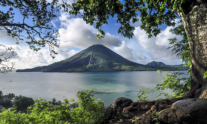 L'archipel volcanique des îles Banda © O.T. Wonderfull Indonesia