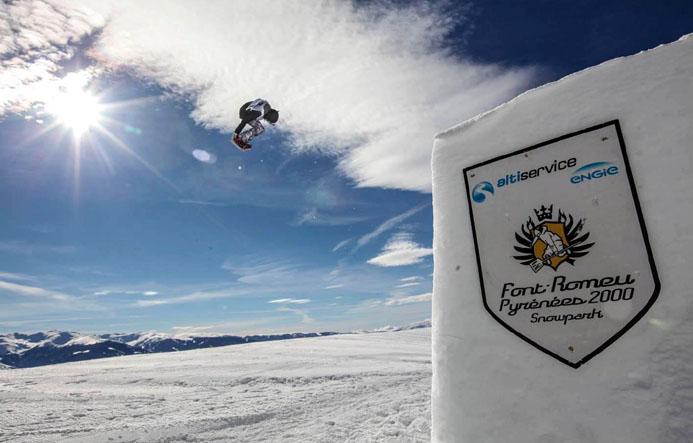 Snowpark - © OT Font-Romeu