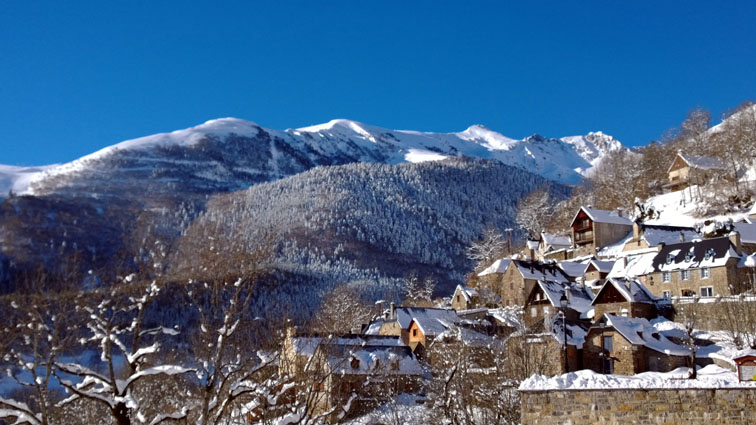 Le village © OT Saint-Lary