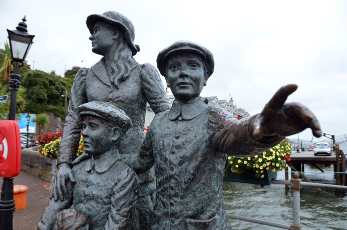 Annie Moore Monument - © D. Raynal