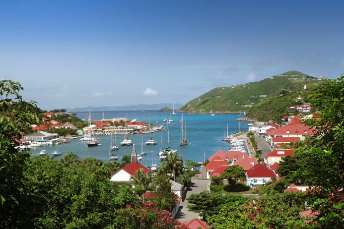 Le port de Gustavia - © Cheval Blanc Press picturesS